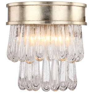 Julien Two-Light Distressed Twilight Wall Sconce
