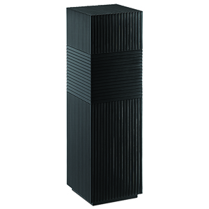 Odense Black 12-Inch Pedestal Table