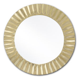 Carla Shiny Gold Small Mirror