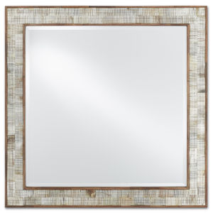 Hyson Natural Square Mirror