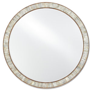 Hyson Natural Round Mirror