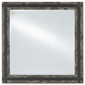 Gregor Brass Large Wall Mirror
