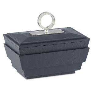 Brash Navy and Nickel Small Box