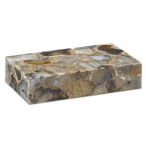 Malaga Black Agate Large Box