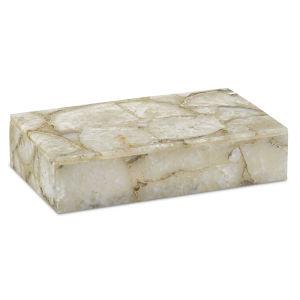 Benoit Natural Agate Large Box