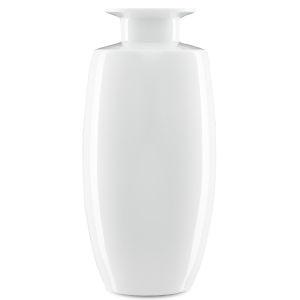 Imperial White Tall Urn Vase
