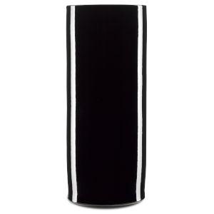 Imperial Black Cylinder Vase