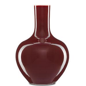 Oxblood Oxblood Large Gourd Vase