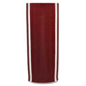 Oxblood Cylinder Vase