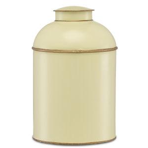 London Ivory and Gold Medium Tea Box
