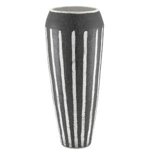 Chibuto Textured Black and White Urn
