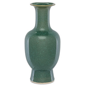 Karoo Crystalized Green Large Crystalized Vase