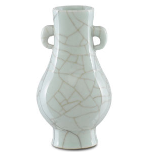 Maiping Celadon Crackle Small Ear Vase