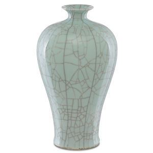 Maiping Celadon Crackle Olpe Vase