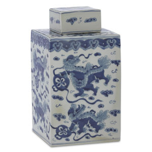 Ming Blue and White Large Lidded Jar