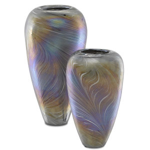 Multicolor Vase, Set of 2