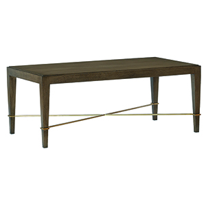 Verona Chanterelle Chanterelle and Champagne 48-Inch Cocktail Table