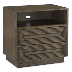 Morombe Distressed Cocoa Nightstand