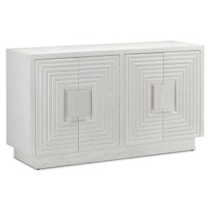 Morombe Cerused White Cabinet