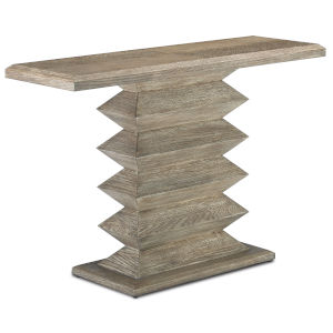 Sayan Light Pepper Console Table