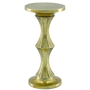 Jesper Antique Gold Drink Table