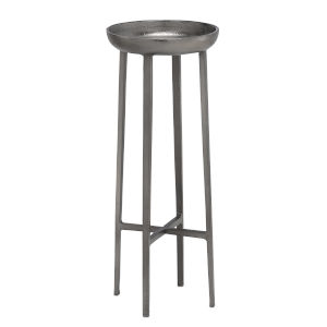 Tomas Black Nickel Large Table
