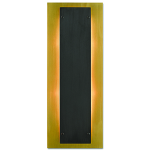 Harmon Oil Rubbed Bronze and Frosted Glass Two-Light Wall Sconce