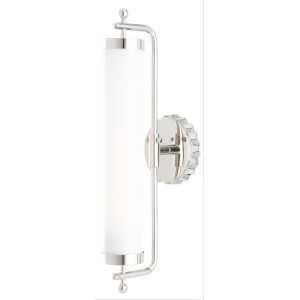 Latimer Polished Nickel One-Light Wall Sconce