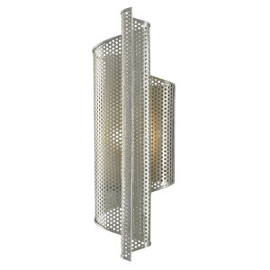 Penfold Contemporary Silver One-Light Right Wall Sconce