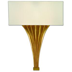 Brinnin Gold Leaf One-Light ADA Wall Sconce
