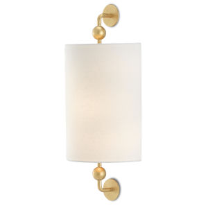 Tavey Contemporary Gold One-Light Wall Sconce