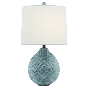 Hadi Gray Stone Wash One-Light Table Lamp