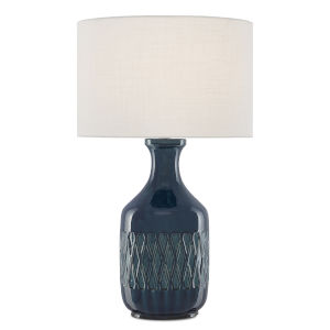 Samba Ocean Blue One-Light Table Lamp