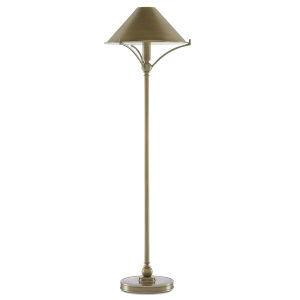 Maarla Antique Brass One-Light Table Lamp