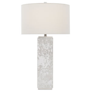 Sundew Silver and Nickel One-Light Table Lamp