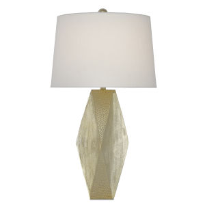 Zabrine Shiny Gold One-Light Table Lamp