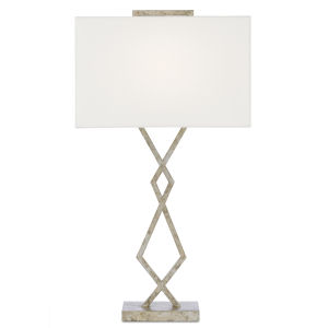 Evelyn Pyrite Bronze One-Light Table Lamp