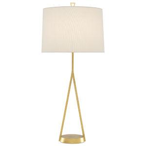 Vilette Antique Gold One-Light Table Lamp