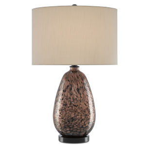 Tullia Copper Metallic and Black One-Light Table Lamp