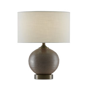 Lucie Dark Brown One-Light Table Lamp