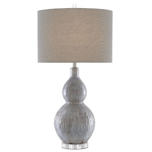 Idyll Gray and Taupe One-Light Table Lamp