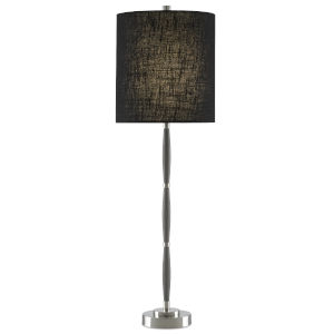 Dashwood Gray and Brushed Nickel One-Light Table Lamp