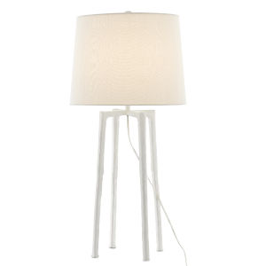 Rowan White One-Light Table Lamp