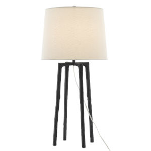 Rowan Charcoal One-Light Table Lamp