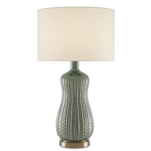 Mamora Green One-Light Table Lamp