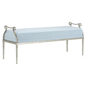 Genevieve Spa and Grecian Silver Bench