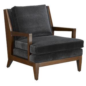 Andaz Ebony and Dark Walnut Chair