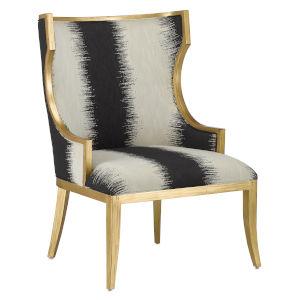 Garson Black and White Chair
