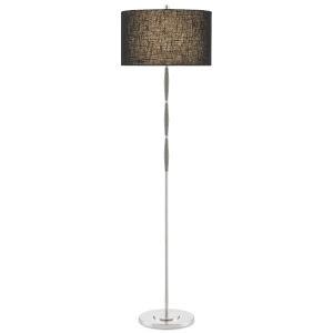 Dashwood Gray and Brushed Nickel One-Light Floor Lamp