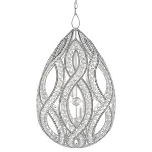 Galliard Silver Ice Six-Light Chandelier